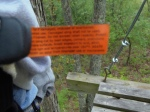 tag on my harness that is blurry. If you could read it though, I'm sure you would feel very reassured as I did ;)